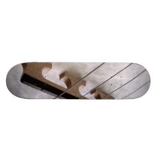 Banjo Closeup Photo Skate Board