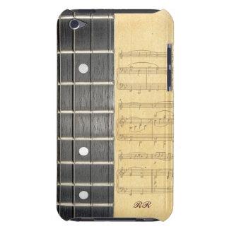 Banjo Fretboard Sheet Music iPod Touch Case