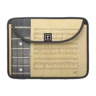 "Banjo Fretboard Sheet Music Macbook Pro 13"" Sleeve Sleeves For MacBooks"