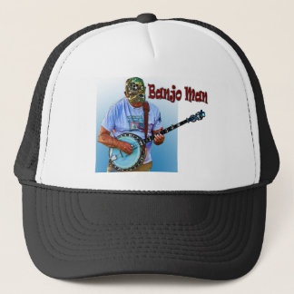 BANJO MAN TRUCKER HAT