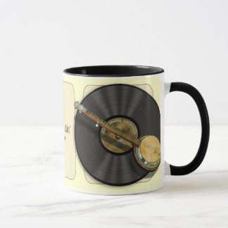 Banjo Music Mugs