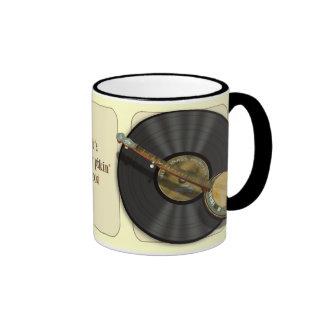 Banjo Music Mugs