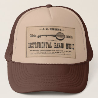 Banjo Music Truckers Hat