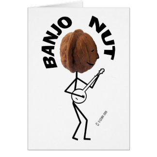Banjo Nut Card