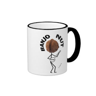 Banjo Nut Ringer Mug