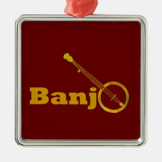 Banjo O Christmas Ornament