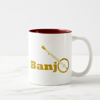Banjo O Two-Tone Coffee Mug