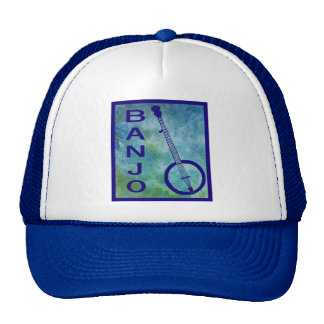 Banjo on Blue Cap
