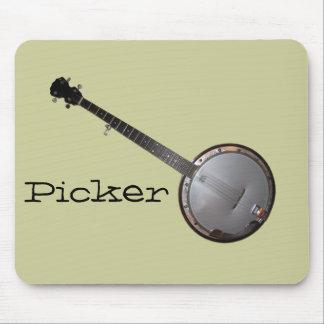 Banjo Picker Mouse Mat