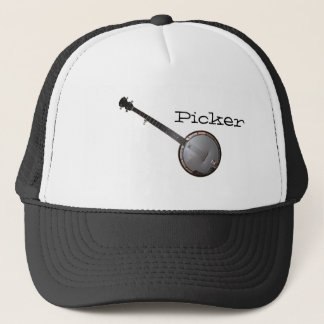 Banjo Picker Trucker Hat