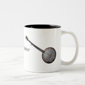 Banjo Picker Two-Tone Mug