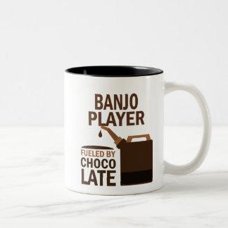 Banjo Player (Funny) Chocolate Two-Tone Coffee Mug