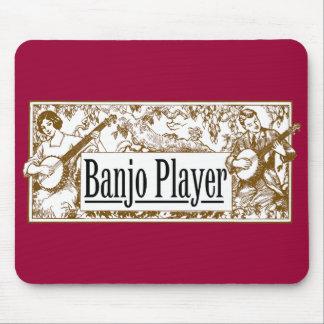 Banjo Player Mousepad