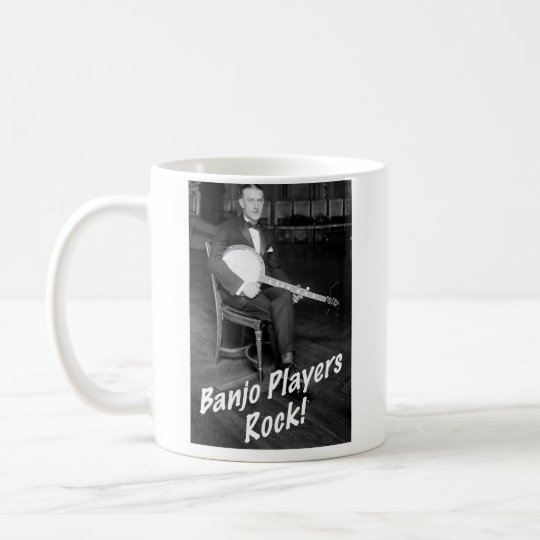 Banjo Players Rock Mug