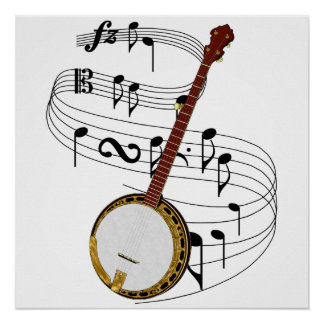 Banjo Posters