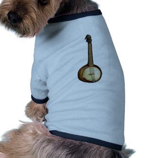 Banjo sketch dog t-shirt