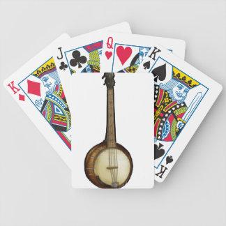 Banjo sketch poker deck