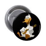 Banjo-Strummin' Duck Button
