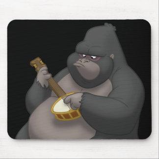 Banjo-Strummin' Gorilla Mousepad
