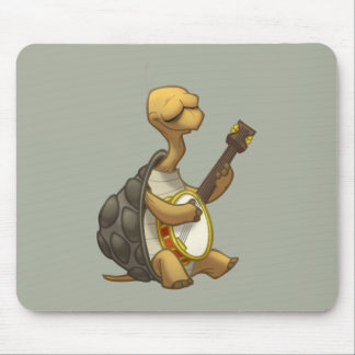 Banjo-Strummin' Tortoise Mousepad
