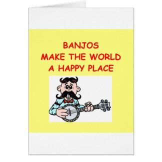 banjos card