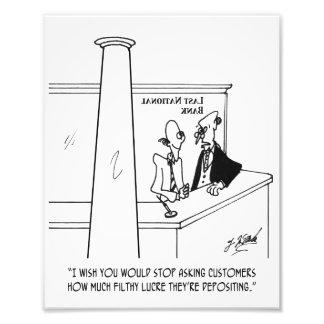 Bank Cartoon 3635 Photo