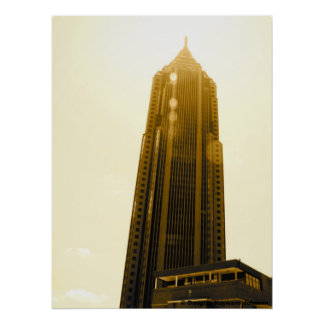 Bank of America Building, Atlanta, Georgia Poster