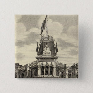 Bank of San Jose 15 Cm Square Badge