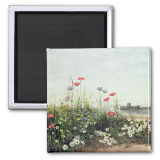 Bank of Summer Flowers Refrigerator Magnets