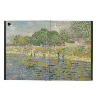 Bank of the Seine by Vincent Van Gogh Cover For iPad Air