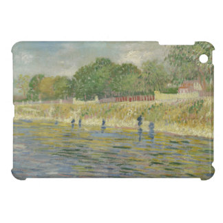 Bank of the Seine by Vincent Van Gogh iPad Mini Cases