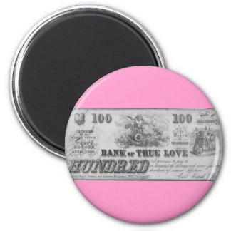 Bank of True Love Refrigerator Magnet