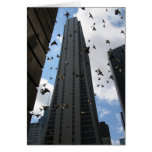 Bank One Plaza Escape Greeting Card