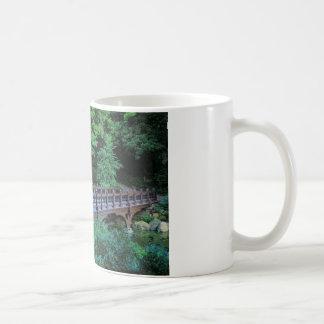 Bank Rock Bridge, Central Park, New York City Basic White Mug