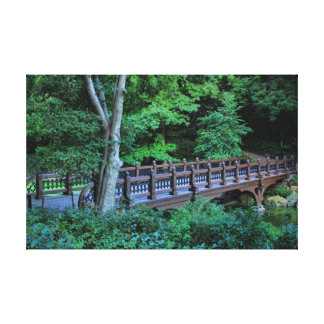 Bank Rock Bridge, Central Park, New York City Gallery Wrap Canvas