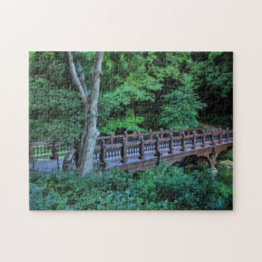 Bank Rock Bridge, Central Park, New York City Puzzle