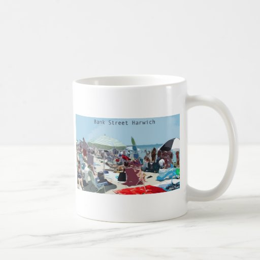 Bank Street Harwich Mug