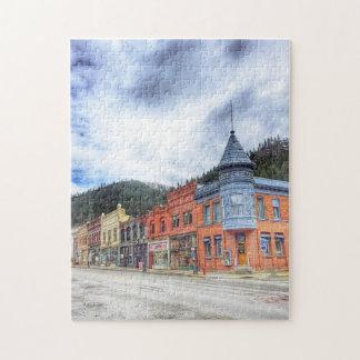 Bank Street Wallace Idaho Jigsaw Puzzle