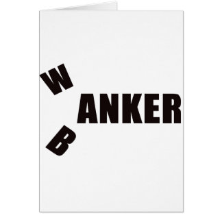 BANKER2 GREETING CARD