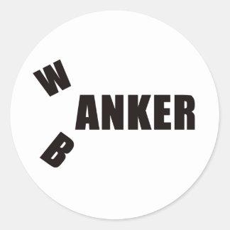 BANKER2 ROUND STICKERS