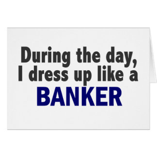 Banker During The Day Greeting Card