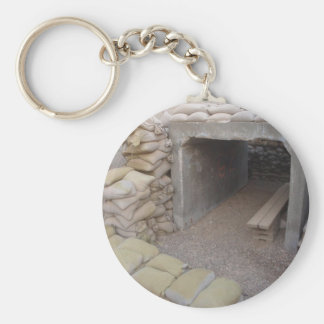 Banker sandbags protection basic round button key ring