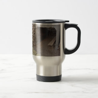 Banker sandbags protection stainless steel travel mug