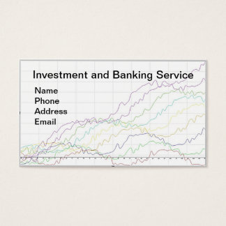 Banking and Investment Services Business Card