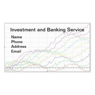 Banking and Investment Services Pack Of Standard Business Cards