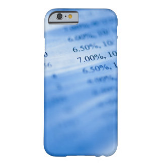 Banking charts barely there iPhone 6 case