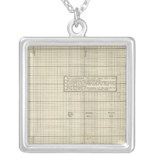 Banking in US Silver Plated Necklace