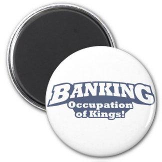 Banking / Kings 6 Cm Round Magnet