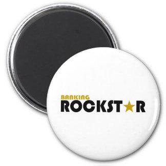 Banking Rockstar 6 Cm Round Magnet