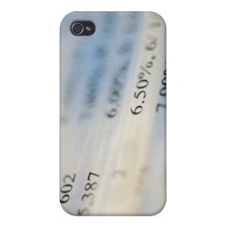 Banking statements cover for iPhone 4
